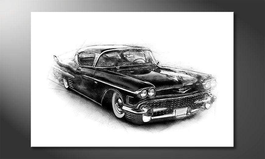 Quadro Black Car