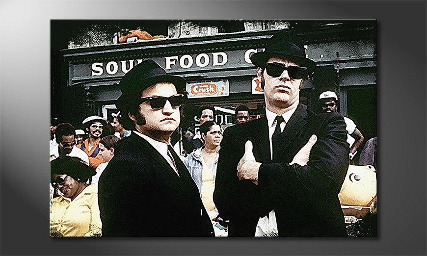 Quadro Blues Brothers Moment