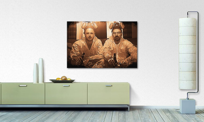 Quadro Breaking Bad