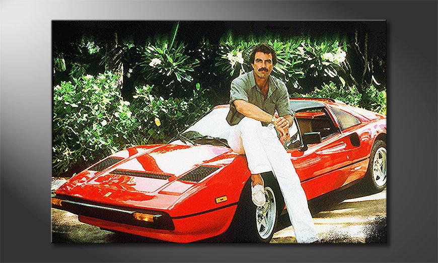 Quadro Ferrari Magnum