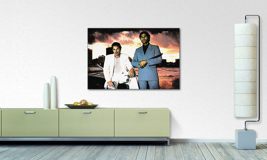 Quadro Miami Vice Moment