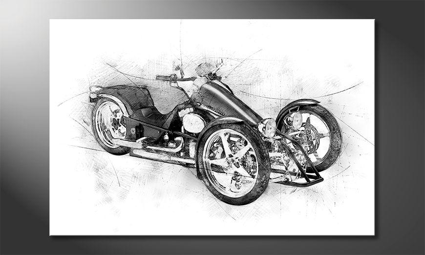 Quadro Motorcycle Five