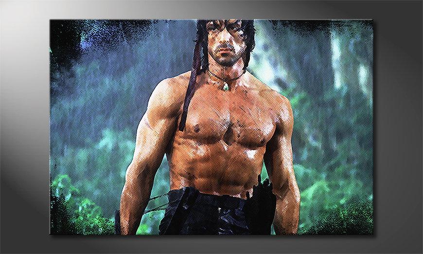 Quadro Rambo Moment