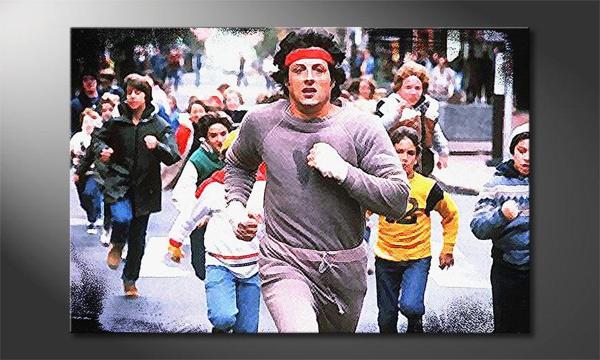 Quadro Run Rocky Run