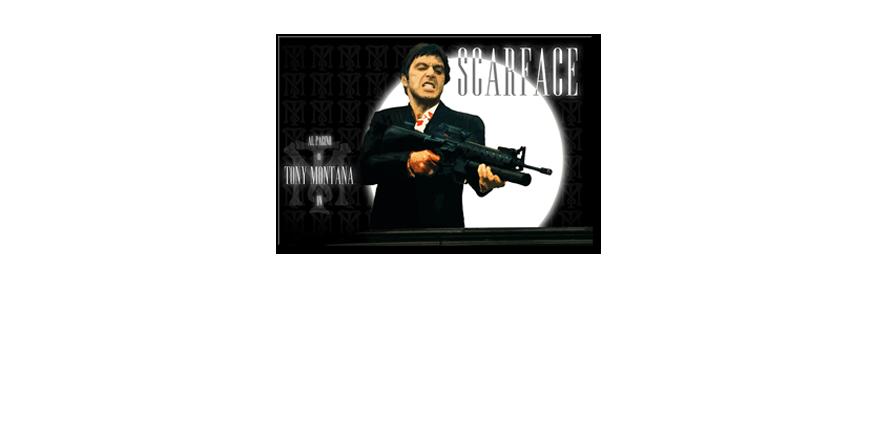 Quadro Scarface - Quadri XXL
