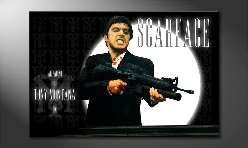 Quadro Scarface