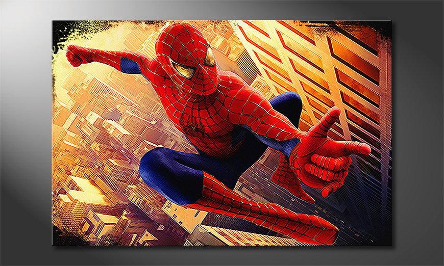 Quadro Spiderman Moment