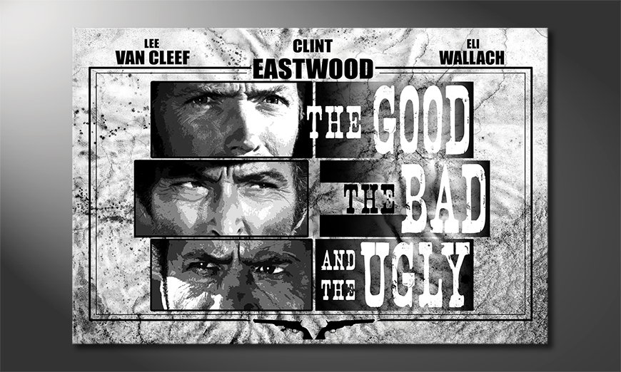 Quadro The Good, The Bad & The Ugly
