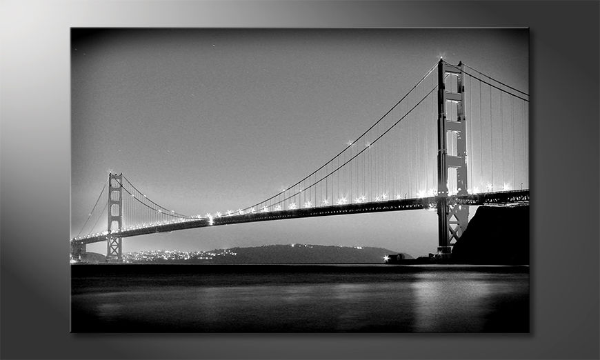 Quadro moderno Golden Gate