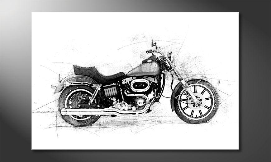 Quadro moderno Motorcycle