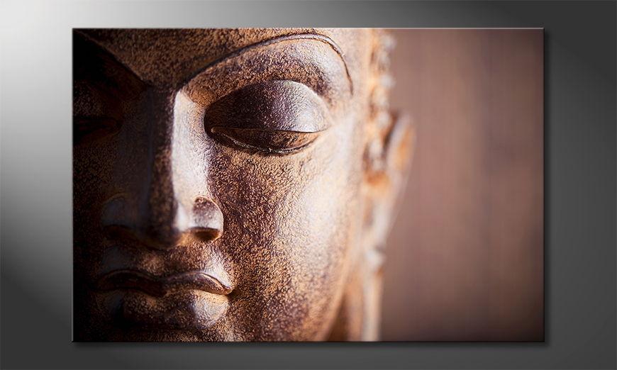 Silence Buddha tela