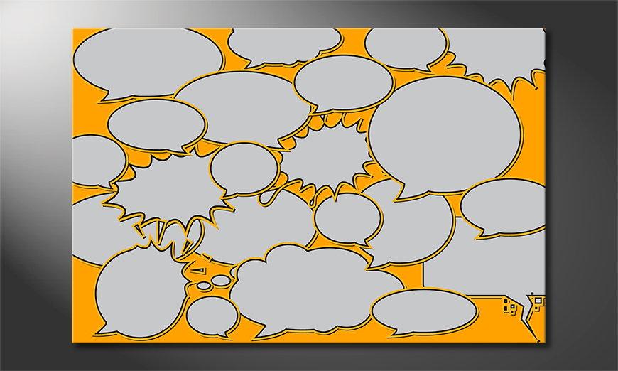 Speech Bubbles quadro