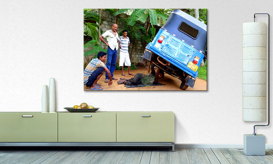 Srilankan car repair quadro