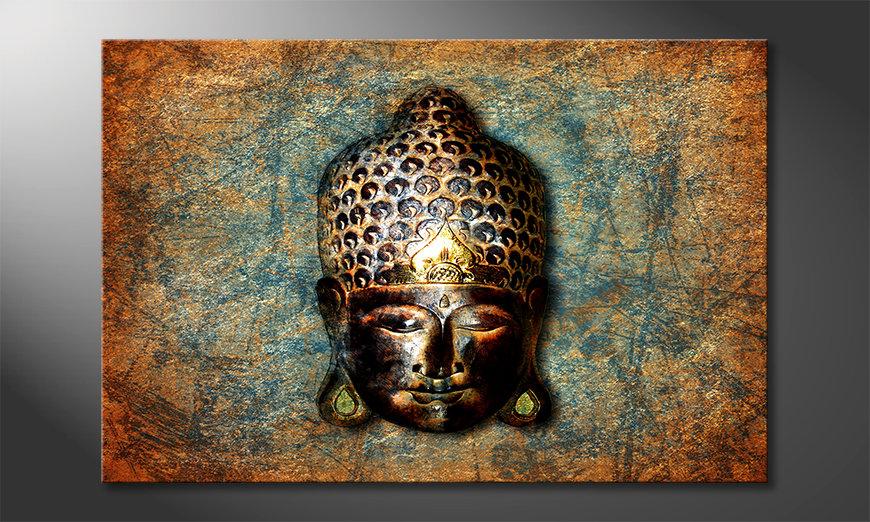 Stampa su tela moderna Buddah