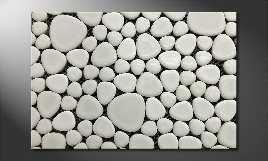 Stones Mosaic tela