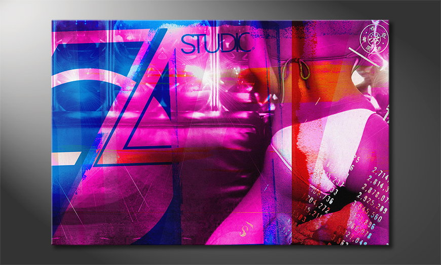 Studio 54 quadro