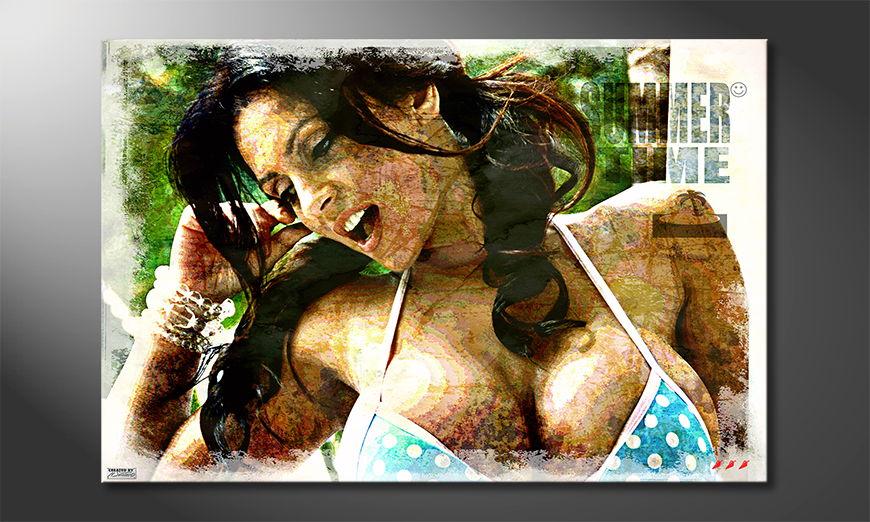 Summertime quadro