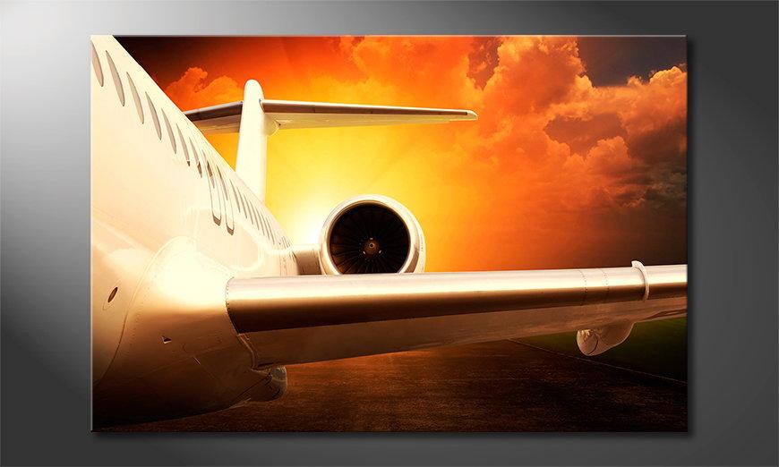 Sunset Flight quadro
