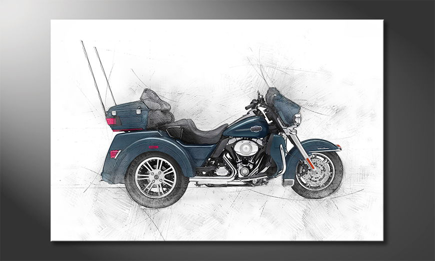 Trike quadro moderni