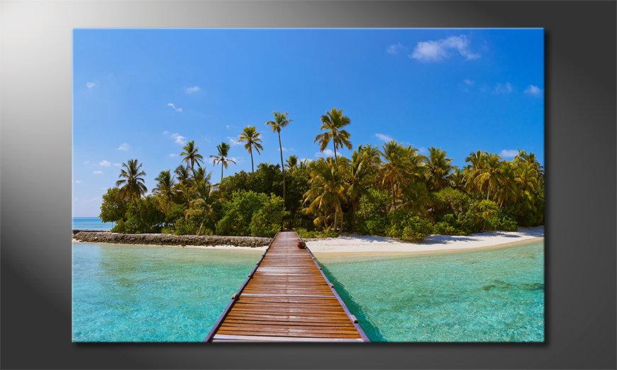 Tropical Way quadro