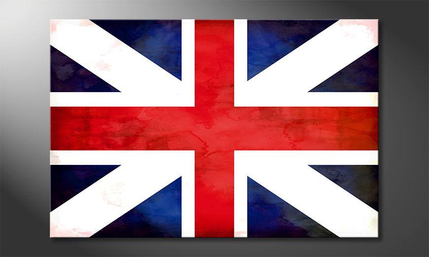 Union Jack quadro moderni