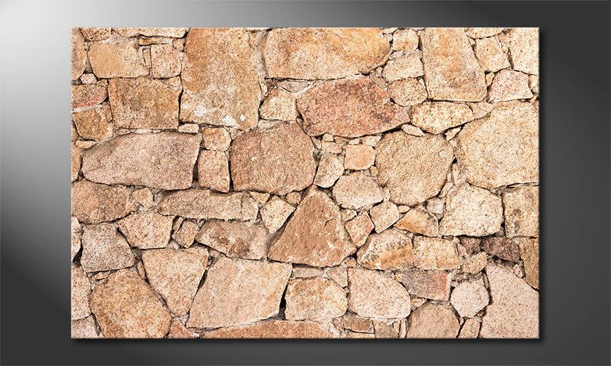 Wall of Stones quadro