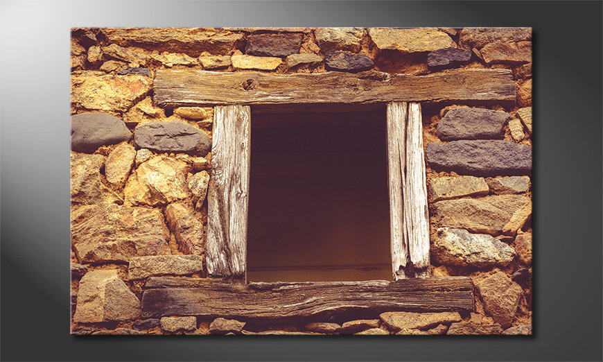 Wooden Window quadro