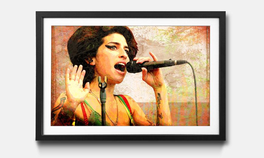La stampa con cornice Amy