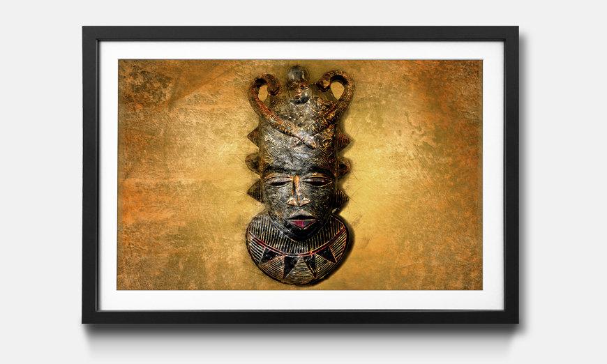 L'immagine incorniciata African Mask