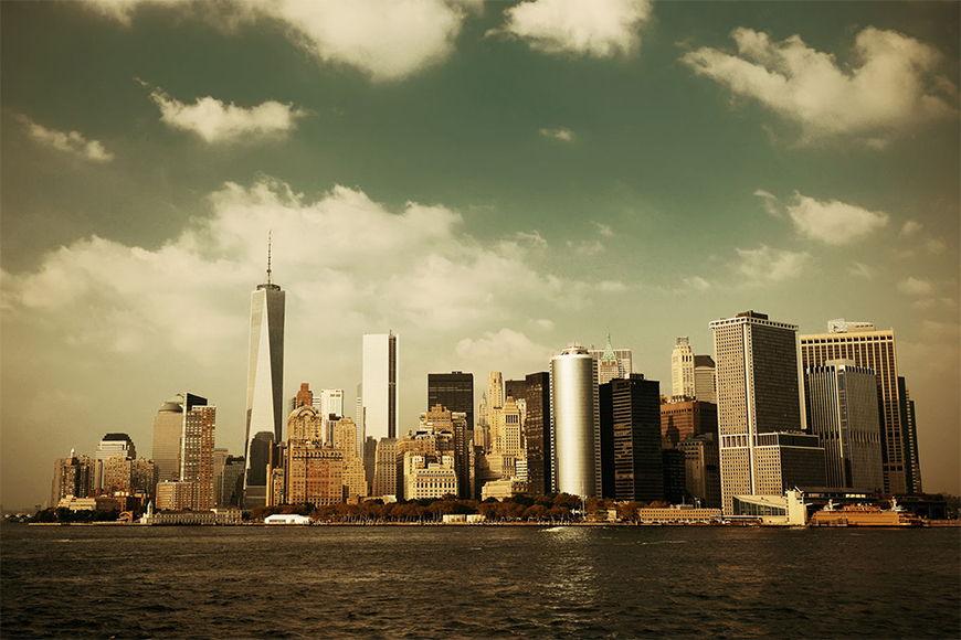 Carta da parate New York: Grattacielo Manhattan