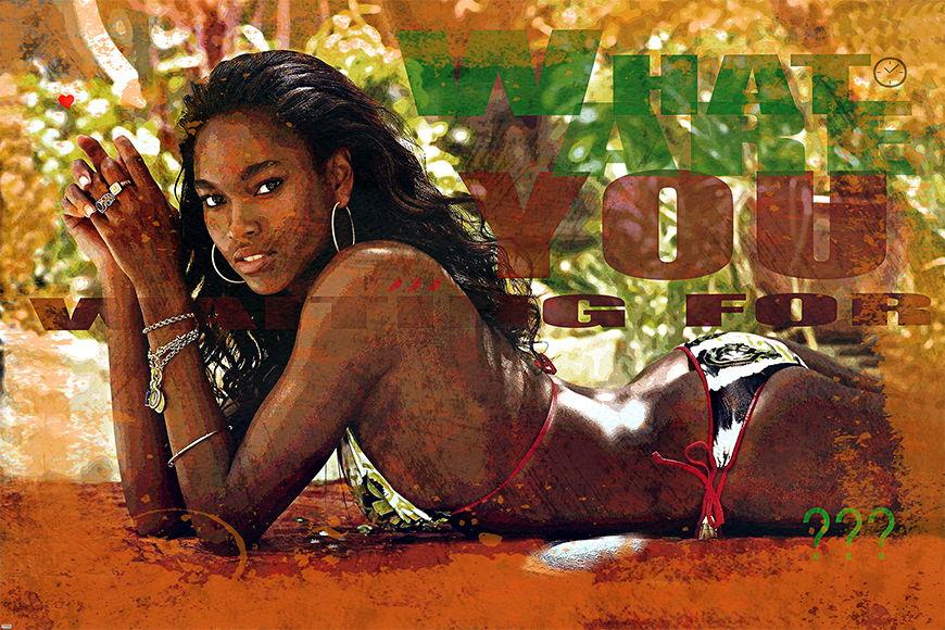 Carta da parati con foto African Beauty da S a XXL