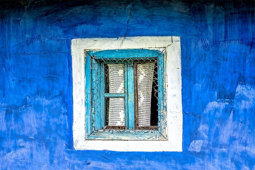 Carta da parati con foto Antica finestra da S a XXL