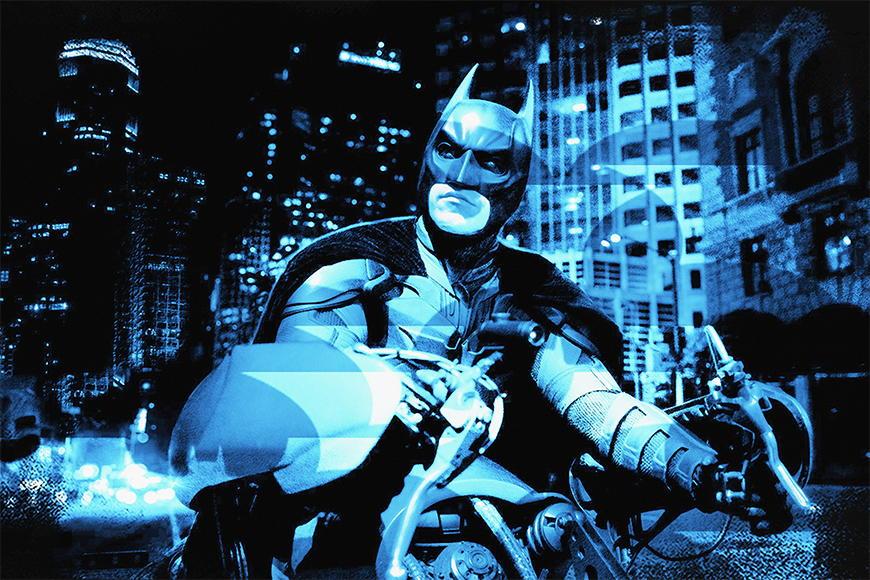 Carta da parati con foto Batman da 120x80cm