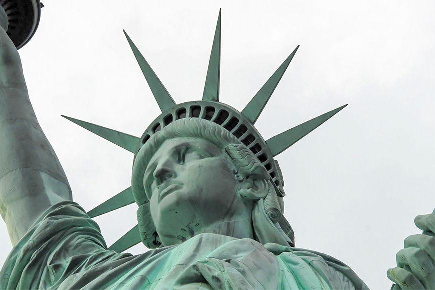 Carta da parati con foto Statua della Libertà da S a XXL