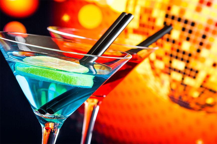 Carta da parati con foto Two Cocktails da 120x80cm
