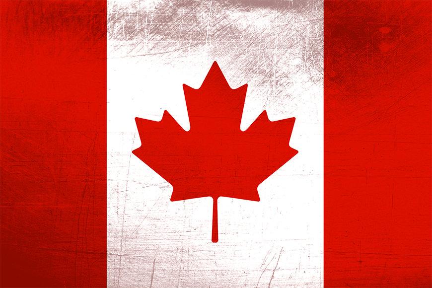 Carta da parati tessuto non tessuto con foto Canada