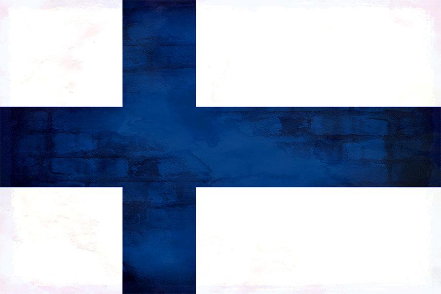 La carta da parati Finland