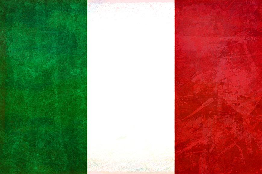 La carta da parati Italia