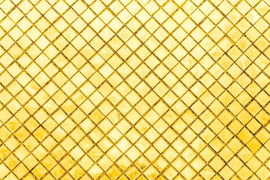 La carta da parati TNT Goldenes Mosaik da 120x80cm