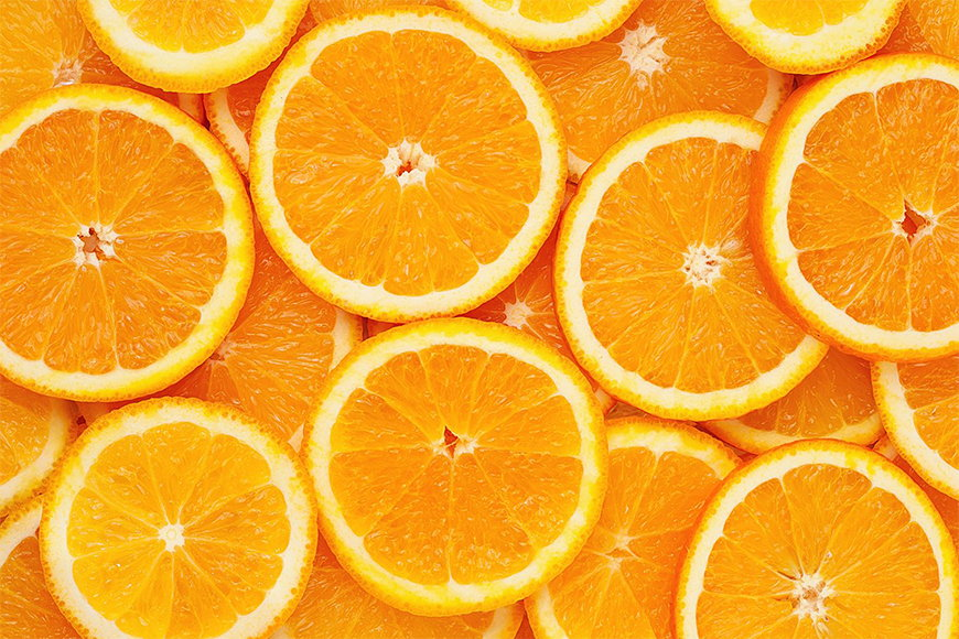 La carta da parati TNT Orange Moment da 120x80cm