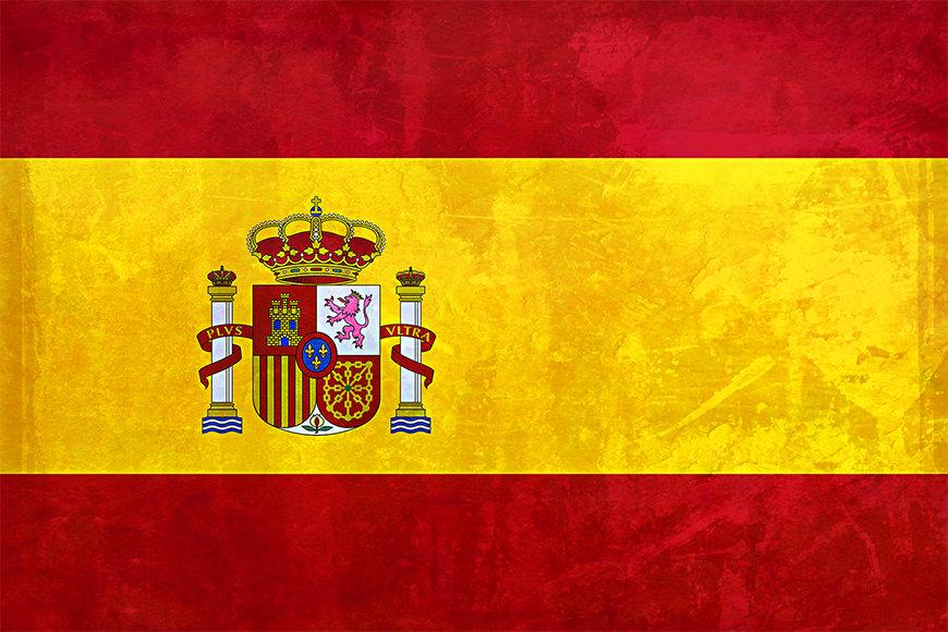 La carta da parati TNT con foto Spanien