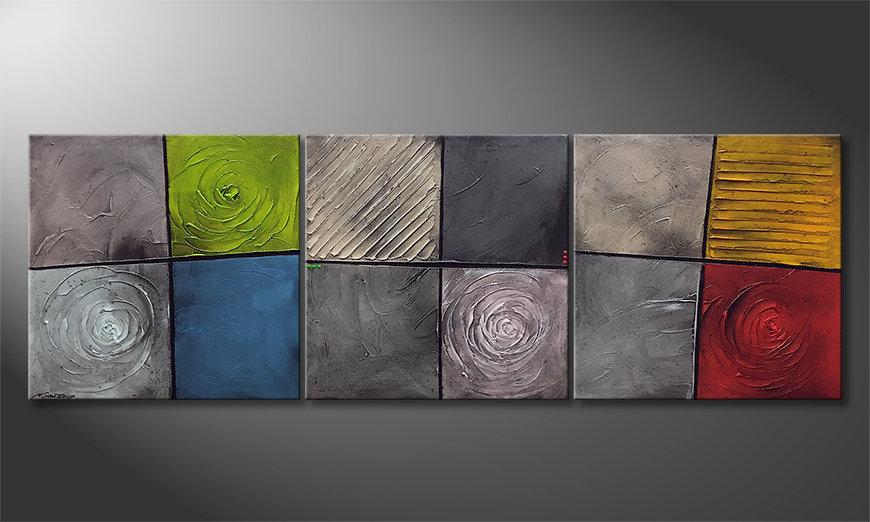La bella pittura Kittenish Moments 225x75x2cm