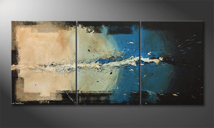 La bella pittura One Second 180x80x2cm