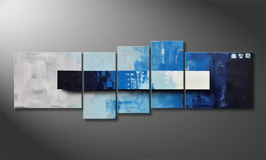 La nostra pittura Deep Water 210x70x2cm