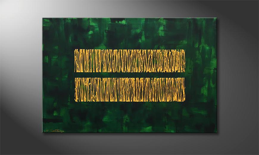 La nostra pittura Jungle Gold 120x80x2cm