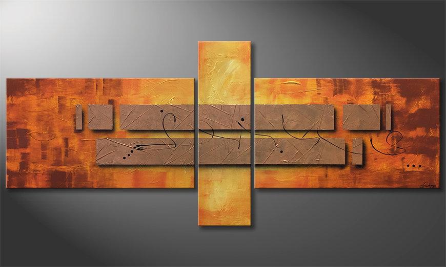 La nostra pittura Pieces of Afterglow 230x100x2cm