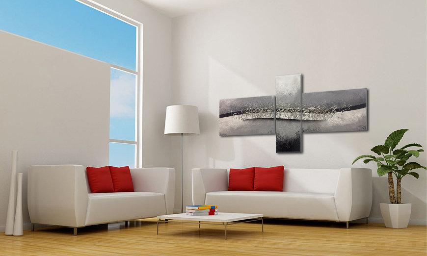 Quadro da soggiorno Patch Together 220x110cm - Quadri XXL
